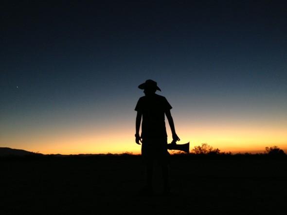 Jeff AD Sunset Bullhorn