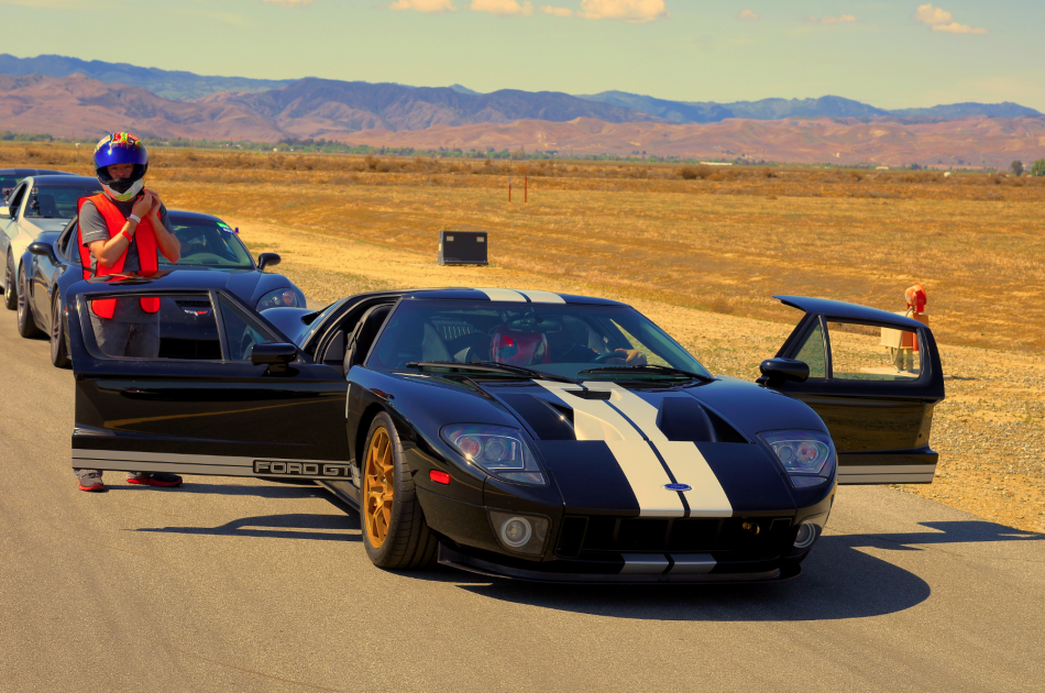 Jeff Hart with a 1000+whp Ford GT