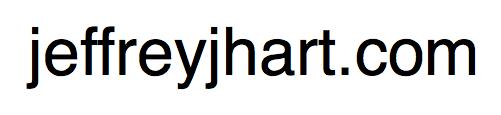 jeffreyjhart.com